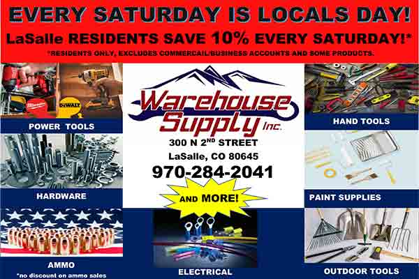 warehouse supply inc event