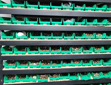 warehouse supply in LasSalle screws
