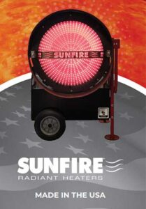 Sunfire Heaters at Warehouse Supply in LaSalle CO